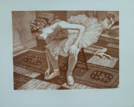 Bookbinder The Ballerina